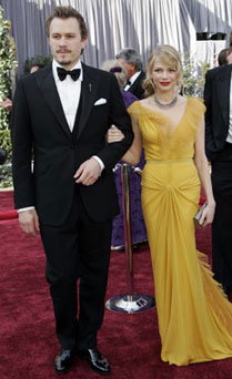 Heath Ledger y Michelle Williams