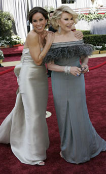Joan Rivers y Melissa Rivers