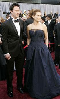 Sandra Bullock y Keanu Reeves
