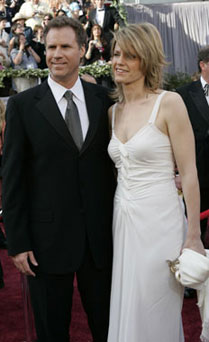 Will Ferrell y Viveca Paulin