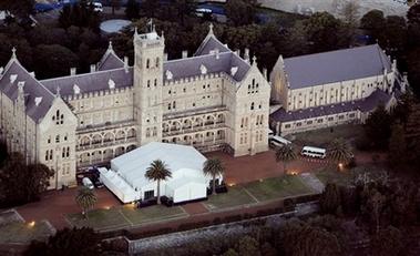 Catedral de la boda de Nicole Kidman