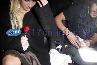 Presunto vomitado de Britney Spears
