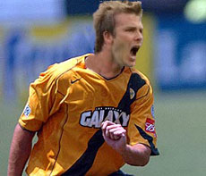 David Beckham Los Angeles Galaxy